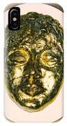 Golden Face From Degas Dancer IPhone Case