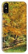 Golden Fenceline IPhone Case
