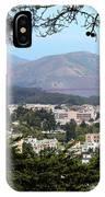 Golden Gate From Buena Vista Park IPhone Case