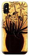Golden Glories IPhone Case