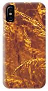 Golden Grass  IPhone Case