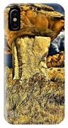 Golden Hoodoo IPhone Case
