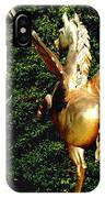 Golden Horses IPhone Case