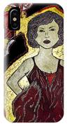 Golden Lady IPhone Case