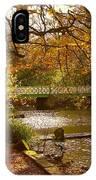 Golden Lake At Botanical Gardens IPhone Case