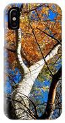 Golden Leaves II IPhone Case