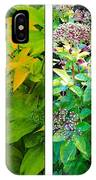 Golden Leaves To Purple Seeds IPhone Case