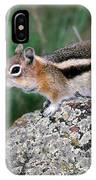 Golden Mantled Ground Squirrel IPhone Case