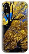 Golden Maple 7 IPhone Case