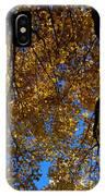 Golden Maple 8 IPhone Case