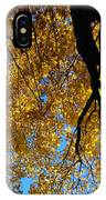 Golden Maple 9 IPhone Case