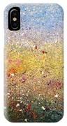 Golden Meadow IPhone Case