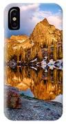 Golden Mountain Light IPhone Case