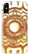 Golden Ornamental Design. IPhone X Case
