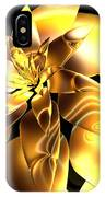 Golden Pineapple By Jammer IPhone Case