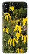 Golden Prairie Coneflower Watercolor Effect IPhone Case