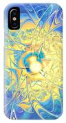 Golden Reflection IPhone Case