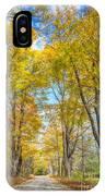 Golden Road IPhone Case