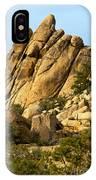 Golden Rocks Of Hidden Valley IPhone Case
