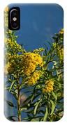 Golden Rods At Northside Park IPhone Case