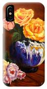 Golden Roses Jenny Lee Discount IPhone Case