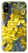 Golden Shower Tree - Cassia Fistula - Kula Maui Hawaii IPhone Case