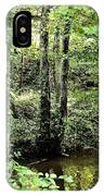 Golden Silence In The Forest IPhone Case