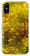 Golden Spring IPhone Case