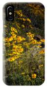 Golden Spring Flowers  IPhone Case