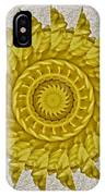 Golden Sun IPhone Case