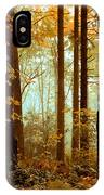 Golden Trees IPhone Case