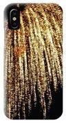 Golden Umbrella IPhone Case