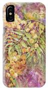 Golden Wattle IPhone Case