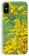 Goldenrod Flowers IPhone Case