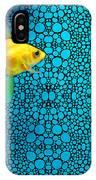 Goldfish Study 3 - Stone Rock'd Art By Sharon Cummings IPhone Case