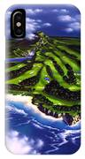 Golfer's Paradise IPhone Case