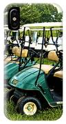 Golfers Take Your Pick IPhone Case