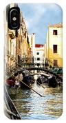 Gondola 158-venice IPhone Case