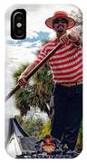 Gondola Ride In City Park New Orleans IPhone Case