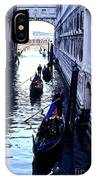 Gondoliers Venice Italy IPhone Case