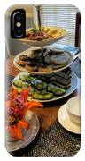 Good Eats In A Lovely Setting IPhone Case