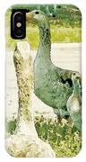 Goose Chat IPhone Case