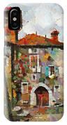 Gordes- Colorful Street IPhone Case