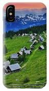 Goreljek Shepherding Village In Alpine IPhone Case
