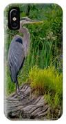 Gorgeous Heron IPhone Case