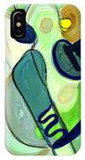 Gorgeous In Green IPhone Case