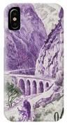 Gorges Kerrata IPhone Case