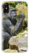 Gorilla Eats IPhone Case