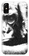 Gorilla Vogue IPhone Case