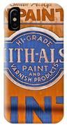 Goshen Paint Company IPhone Case
